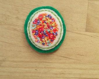 Joyful Spring Patch (pin, badge, brooch, magnet)