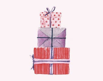 "Greeting Card ""Gifts"""