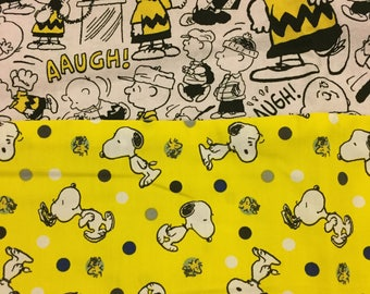 Peanuts Charlie Brown and Snoopy Standard Pillowcase
