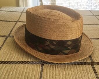 vintage beaumont straw hat!