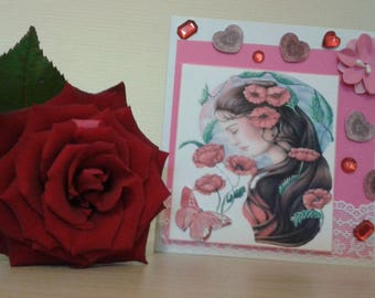 Card all occasions woman