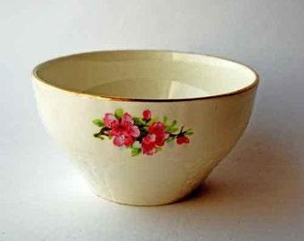 Empire Ware Sugar Bowl, English china, bone china bowl,1930's sugar bowl, mismatch china, vintage tea set.