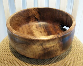 Hand Turned Myrtle Wood Bowl