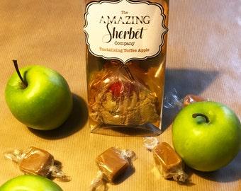 Toffee Apple Sherbet Lollipop