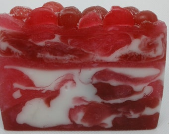 Frosted Cranberry Handcrafted Soap