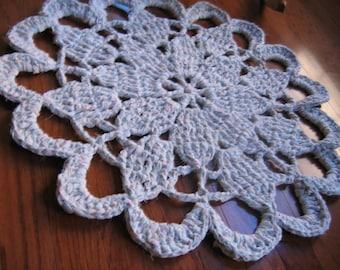 Starburst Rag Crochet Rug Pattern