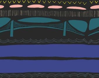 2 Yard Cut - Gramercy by Leah Duncan for Art Gallery Fabrics - Brooklyn Bridge Flare GRA-4509