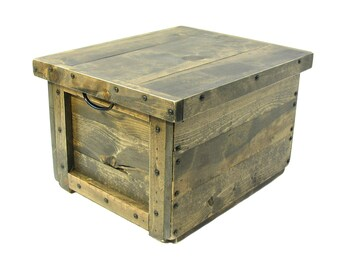 Wooden File Box, File Sorter, Small File Cabinet, Wooden Box for Files, File Organizer, File Holder, Suspension File Box, Hanging File Box