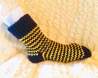 Slipper Socks - Men's - Striped