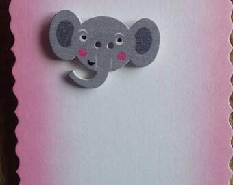 Elephant badge