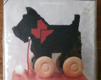 Back Street Designs Tag a Long Toy Scottie the Dog Kit