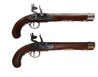Premium Kentucky Flintlock Pistol