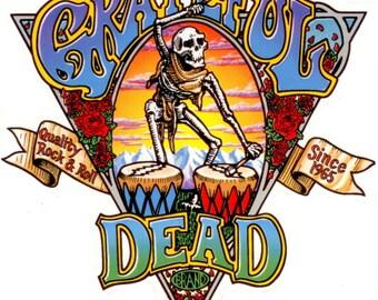 Grateful Dead # 11  8 x 10 - T Shirt Iron On Transfer