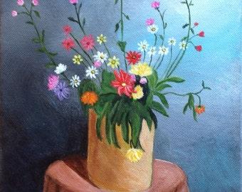 Henri's Bouquet Original Painting