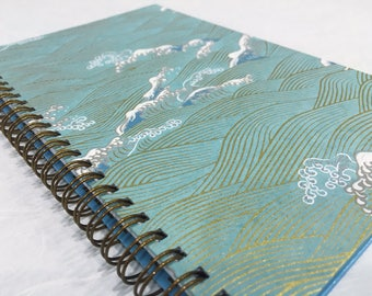 2018-2019 Small Daily Planner - Blue Part 1 - Midyear Planner - Appointment Book - CHOOSE YOUR COVER