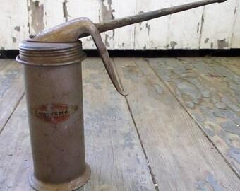 Vintage Craftsman Pump Oil Can Pump Can Oiler Craftsman Tools Collectible