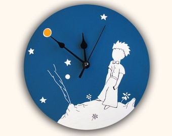 THE LITTLE PRINCE wall clock, unique decoration, christmas gift