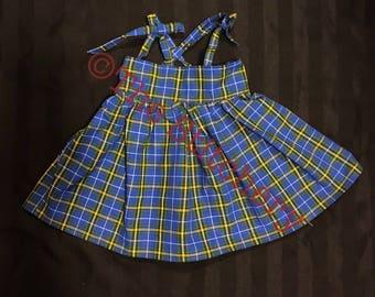 Nova Scotia Tartan Dress