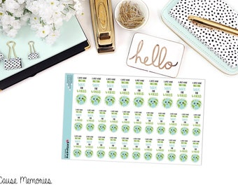 """MCM MANTRAS: """"Save the World"""" Paper Planner Stickers!"""