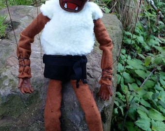 Tartalo be Basque mitologico puppet or puppet