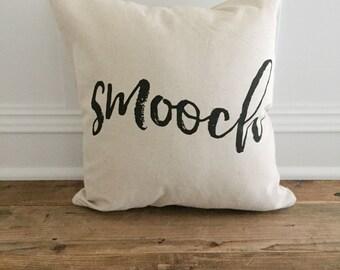 Smooch Pillow Cover