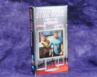 Vintage Star Trek The Original Series TV Episode 1988 Wink Of An Eye Airdate 1968 VHS Tape - Captain Kirk - Spock - Scalos - USS Enterprise