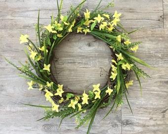 Spring Yellow Wreath
