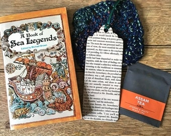 Vintage Novel | Date With a Vintage Book: A Book of Sea Legends | Booklover | Bookish | Fiction | Father's Day Gift | Bibliophile | Bookworm