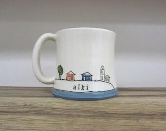 MADE TO ORDER ~ Alki Mug