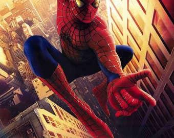Spider-Man 11x17 Movie Poster Original Version Style A