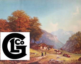 """GP3627 """"Home In The Alps"""" by A Diel"""