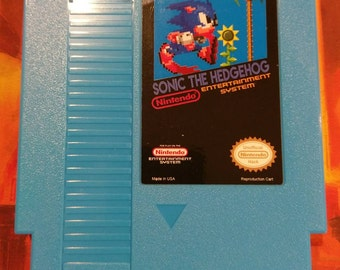 Sonic the Hedgehog Nintendo (NES) w/Dust Cover *NEW*