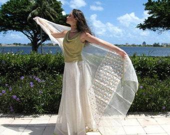 Mariage indien ensemble / tenue de mariage / mariée jupe châle voile / indienne jupe et châle / fits S-M