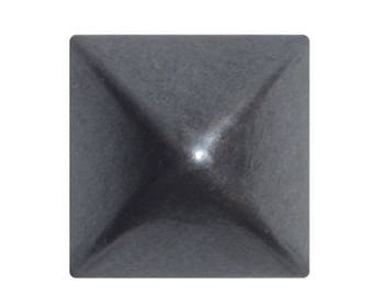 100, nails, upholstery, pyramid 14 X 14 mm, gun rifle, square