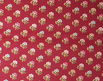 Fleur Jolie color Red Cranberries Waverly Fabric Home Decor