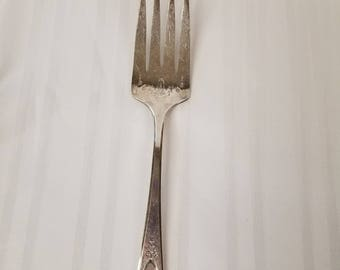 Silver Cold Meat Fork