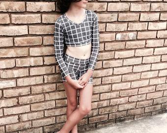 BUNDLE Abby's Rashguard - Top, Shorts + Briefs, Sewing Pattern, PDF pattern