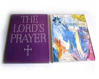 TRADITIONAL The Lord's Prayer King First Edition James Version Franklin Watts 1960 Book HC Original Box Illustrated by Charles Mozley