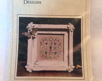 CLEARANCE Annalee Waite Designs - Signs of Spring Cross Stitch Chart