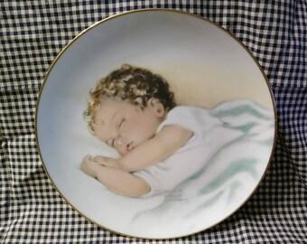 Bessie Pease Gutmann Plate SWEET INNOCENCE, Hamilton Collection 1987