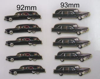 HEARSE & MORE HEARSE. A Garage of  10 X Funeral delivery Vehicles. (2 Styles)