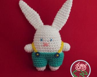 Amigurumi Mini Bunny - PDF pattern (Digital Download)