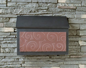 Modern Rectangular Mailbox - Spinster Design