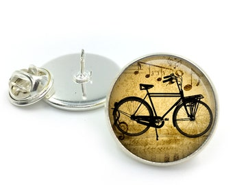 Vintage Bicycle Lapel Pin Badge, Bicycle Lapel, Bikes, Bike gifts, Vintage Bikes, Bike Lover, Gift For Him, Fathers Day,Groom,Gift for Men,6