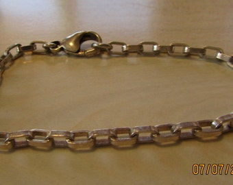 """7 1/2"""" Sterling Silver Link Bracelet"""