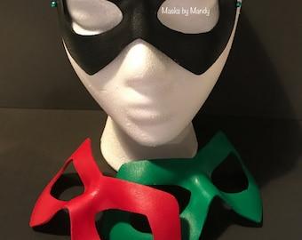 Green Arrow inspired superhero mask