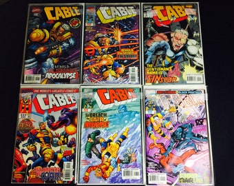 Marvel Comics Cable lots
