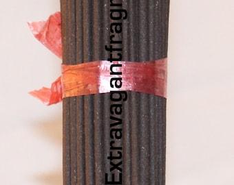 Handmade incense sticks  (Dragons Blood)  85-100 Incense Sticks.  By Extravagantfragrances