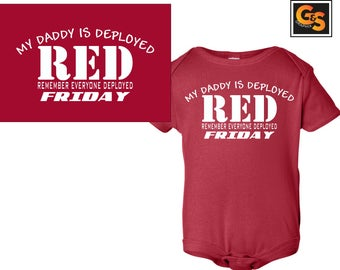 Red Friday Onezie