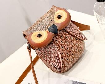 Cute Purse Handbag Owl Women Messenger Bags